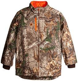 Carhartt Boys' Big Camo Jacket, Realtree Xtra, Medium