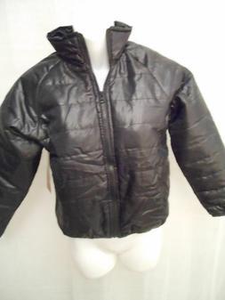 Boys Jackets Sleek Black Windbreaker Coats Boys clothes Oute