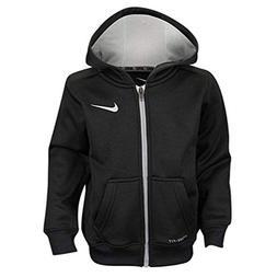 Nike Boys Dri Fit Therma Hoodie Jacket, Black