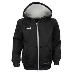 Nike Boys Dri Fit Therma Hoodie Jacket, Black