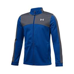 Under Armour Boys' Futbolista Soccer Track Jacket, Royal /Wh