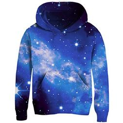 Uideazone Space Collection Boys Girls All Over Galaxy Print