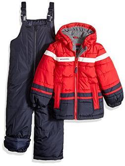 London Fog Boys' Little 2-Piece Snow Pant & Jacket Snowsuit,