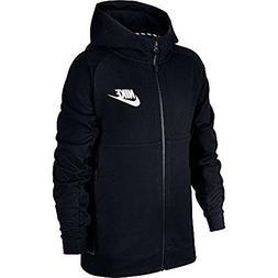 NIKE Boys Sportswear Advance 15 Big Kids Hoodie Black 856185