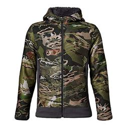 Under Armour Boys Stealth Fleece Jacket, Ua Forest Camo /Bla