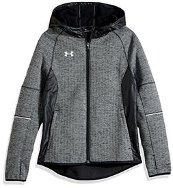 Under Armour Boys' Swacket, Black /Reflective, Youth Large