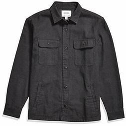 Brand - Goodthreads Men's Heavyweight Flannel Shirt Jacket C