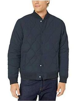 Brand - Goodthreads Men's Quilted Liner Jacket, Navy, Navy,