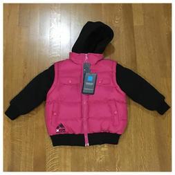 Brand New Boys Girls Size 3T Toddler IZOD RBX Down Jacket Pu