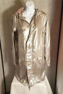 Calypso St. Barth Silver Tasila Parka Jacket XS S M L MSRP $