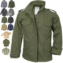 Camo Military M-65 Field Coat Camouflage Army M65 Tactical U