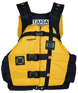 Stohlquist Canyon PFD Universal Vest, One Size, Mango