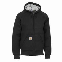 Carhartt wip Car-Lux Hooded Jacket Black Thermal Layer Hoode