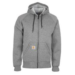 Carhartt Wip Car-Lux Thermo Jacket Dark Grey Warm Hooded Jac