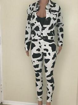 CJ's Cow Print Jacket