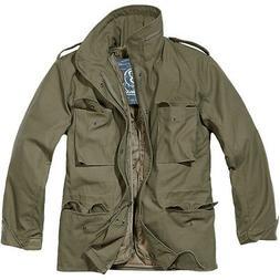 Brandit Classic M65 Mens Army Field Jacket Warm Travel Parka