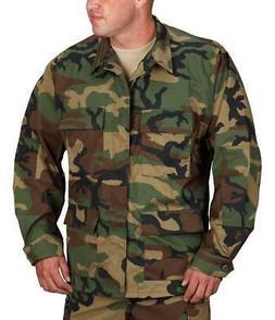 CLEARANCE - Military BDU Jacket WOODLAND CAMO - IRREGULAR