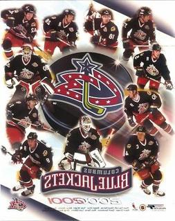 COLUMBUS BLUE JACKETS 8x10 2000-01 NHL TEAM PHOTO Inaugural