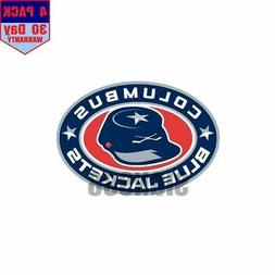 Columbus Blue Jackets Hockey 1 4 pack 4x4 Inch Sticker Decal