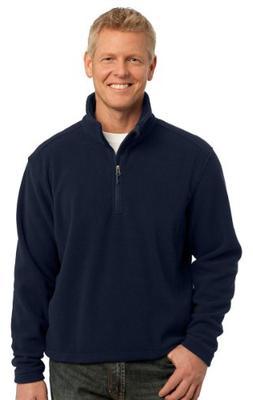 Port Authority Mens Comfort 1/4-Zip Fleece Pullover_True Nav