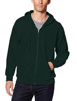 Hanes Men's ComfortBlend Full-Zip Hood 7.8 oz., 3XL-Deep For