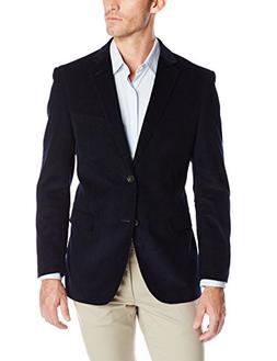 U.S. Polo Assn. Men's Corduroy Sport Coat, Ram1014j Navy, 42