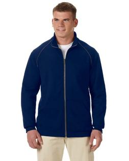 Gildan Premium Cotton 9 oz. Ringspun Fleece Full-Zip Jacket>