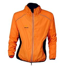 WOLFBIKE Cycling Jacket Jersey Long Sleeve Wind Coat, Color: