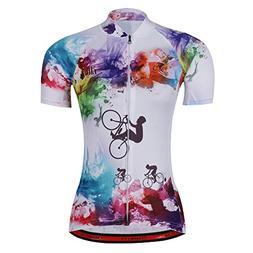 Women's Cycling Jersey Beautiful Bike Bicycle Clothing Shirt