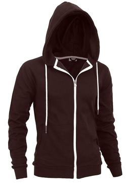 """""""DELIGHT"""" Men's Fashion Fit Full-zip HOODIE with Inner Cell"""