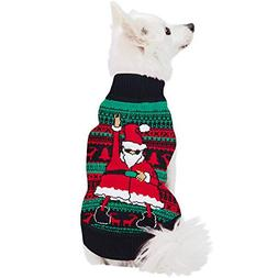 Uideazone Dog Christmas Soft Stretch Sweater Pullover Keep P