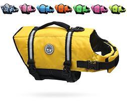 dog life jacket adjustable