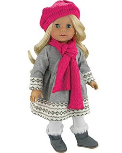 Doll Clothes 4 Pc. Outfit fit for 18 Inch American Girl Doll