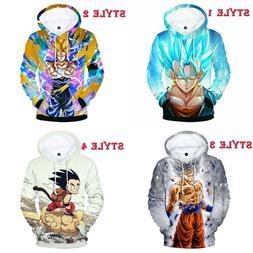 Dragon Ball Super Saiyan God Son Goku Hoodie Sweater Sweatsh