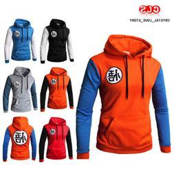 Dragon Ball Z Goku Men's Hoodies Sweater Pullover Sweatshirt