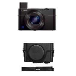 Sony DSC-RX100M III Cyber-shot Digital Still Camera with Pre