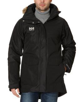 Helly Hansen Men's Dublin Parka Jacket, Black, XXX-Large
