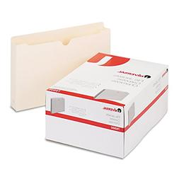 Universal Economical File Jackets with Two Expansion, Legal,