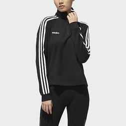 adidas Essentials 3-Stripes Fleece 1/4 Zip Jacket Women's
