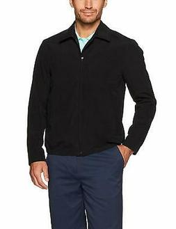 Essentials Men's Water-Resistant Golf Jacket, Black,, Black,