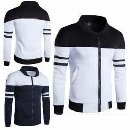 Fashion Men Slim collar jackets fashion jacket Tops Casual c