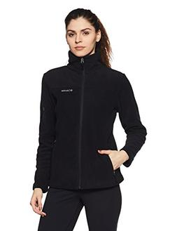 Columbia Women's Fast Trek II Full Zip Fleece Jacket, Black,
