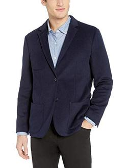 Goodthreads Men's Standard-Fit Wool Blazer, Navy, Medium