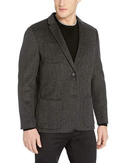 Goodthreads Men's Standard-Fit Wool Blazer, Charcoal Herring