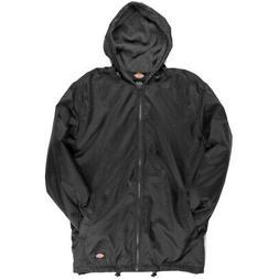 Dickies Fleece Lined Nylon Hooded Windbreaker Men's Zip Up J
