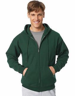 Hanes Full Zip Hoodie Sweatshirt ComfortBlend EcoSmart Long
