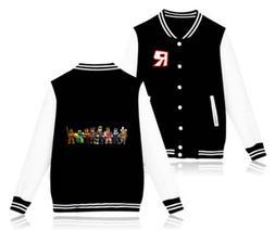 game roblox baseball jackets funny fleece sweatshirts men/bo