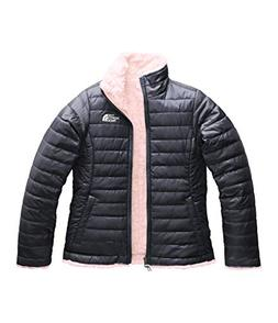 The North Face Girl's Reversible Mossbud Swirl Jacket - Peri