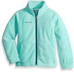 Columbia Girls' Big Benton Springs Fleece, Pixie/Emerald, Sm