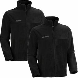 Columbia Men's Granite Mountain Fleece Jacket, Black, Medium